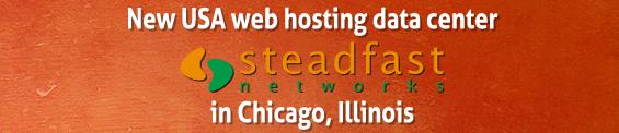 New shared web hosting data center in Chicago, Illinois