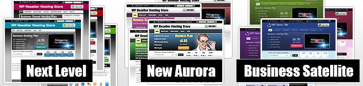 Reseller Hosting WordPress Themes