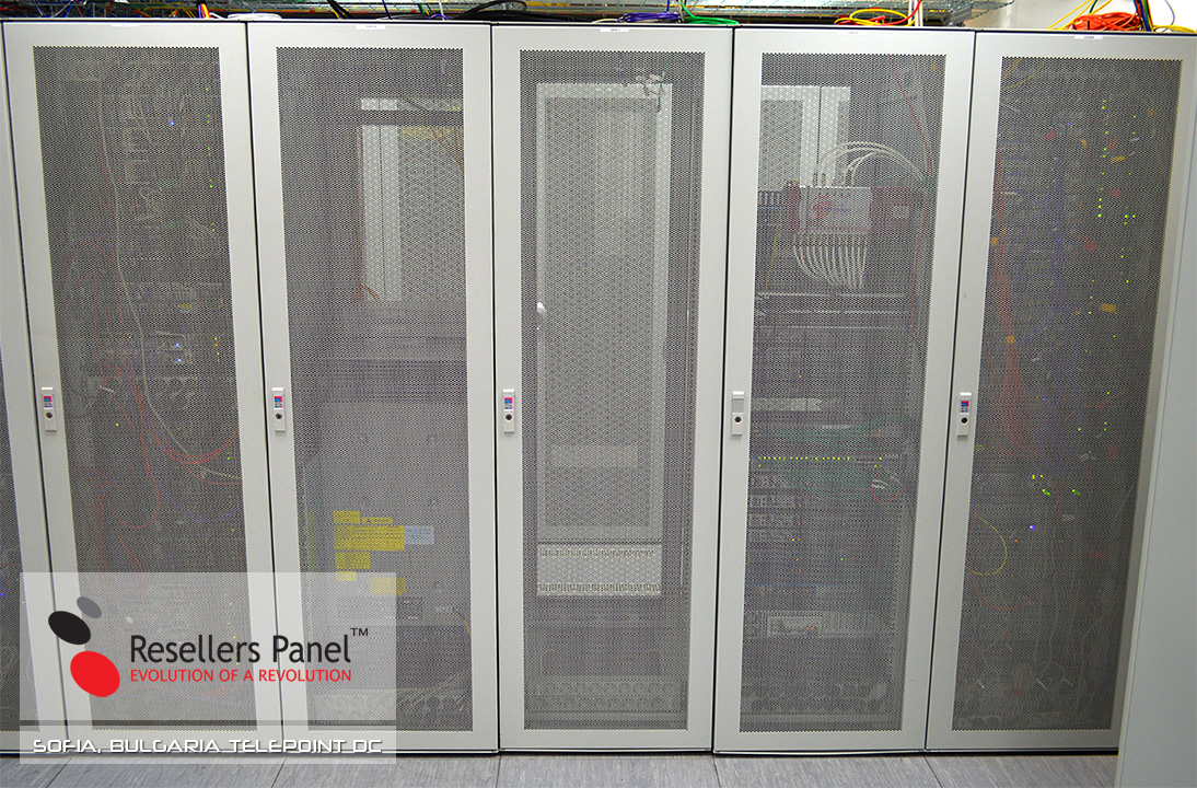 TelePoint Data Center - server racks