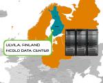 Finland data center - map overview