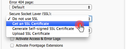 Hepsia upgrades - SSL certificates in Hosted Domains