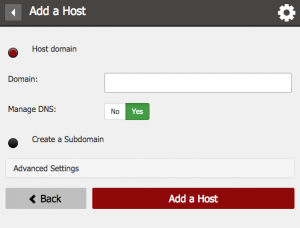 How to Add a Host