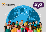 .XYZ and .SPACE sites now available for registration