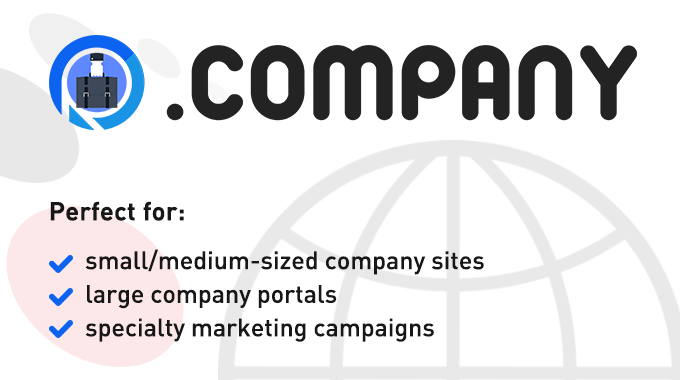 .COMPANY nTLD - applications