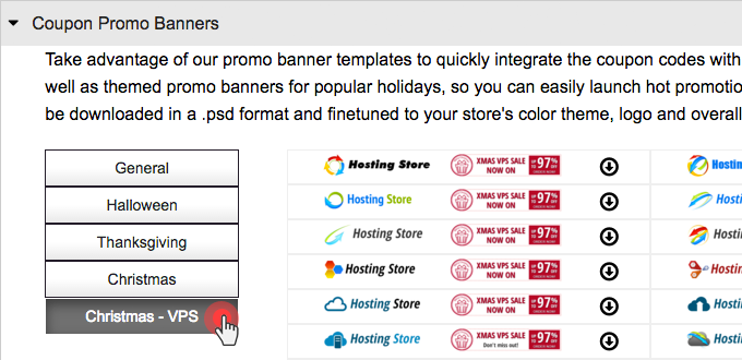 OpenVZ VPS promotion - header banners