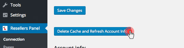 KVM VPS - clear cache in WordPress