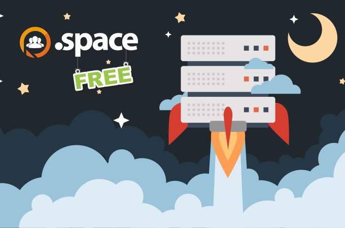 Space now free with a web hosting plan for Free online space planner