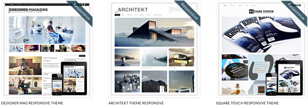 Free WordPress themes -full width banner layout