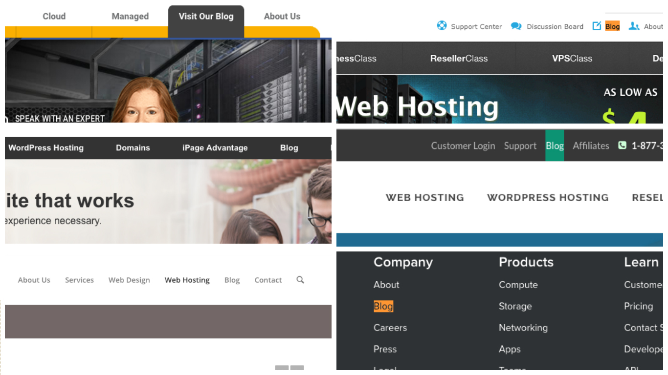 Start web hosting business - blog