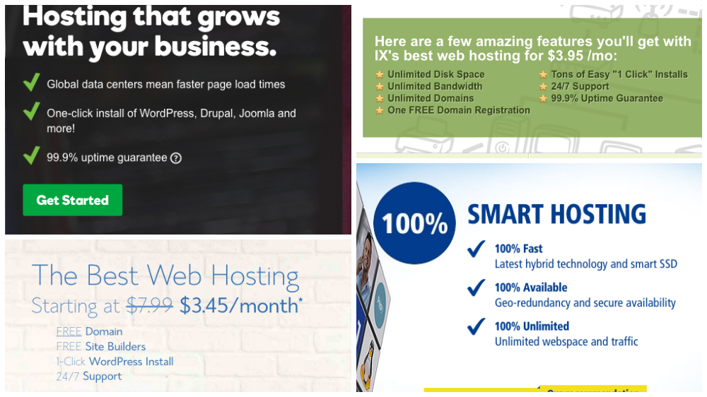 Start a web hosting business - explore competition