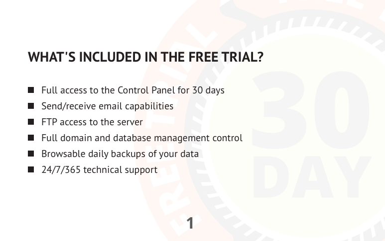 Free Trial PDF brochure