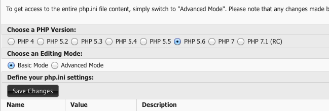 Set up Memcached on Windows - select PHP version