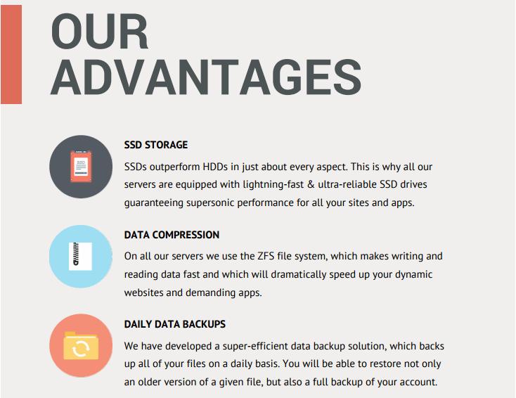 PDF hosting brochure - advantages