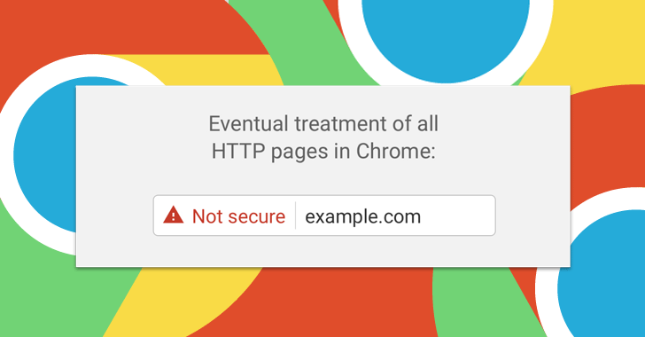 HTTPS Chrome -not secure warning