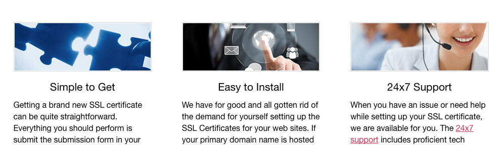 HTTPS - sell SSL certificates