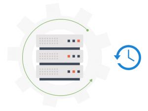 Dedicated servers - backup space