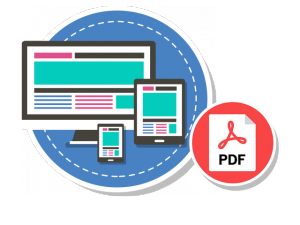 PDF brochures on the Store Master reseller hosting theme