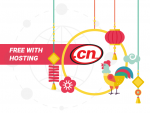 .CN TLD free with hosting