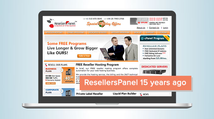 ResellersPanel 15 years ago