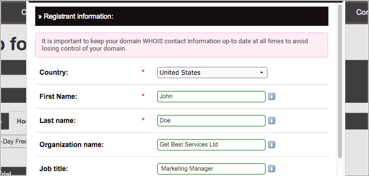 Domain management tips - keep Whois information up to date