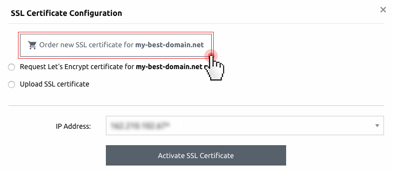 SSL certificates - domains with no SSL installation