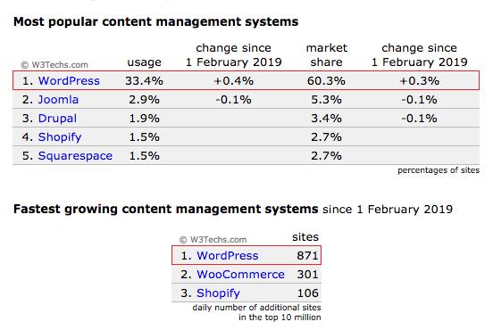 WordPress SEO basics - most popular CMS platform