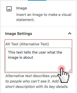 insert image wordpress