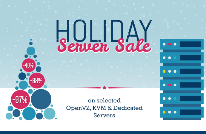 holiday server sale vps dedicated servers