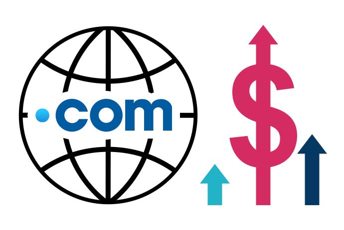com tld price increase