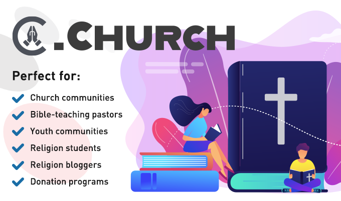 donuts new tlds dor church registration