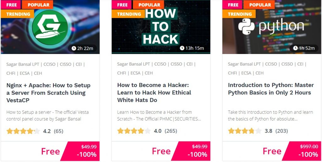 quarantine free courses bitdegree