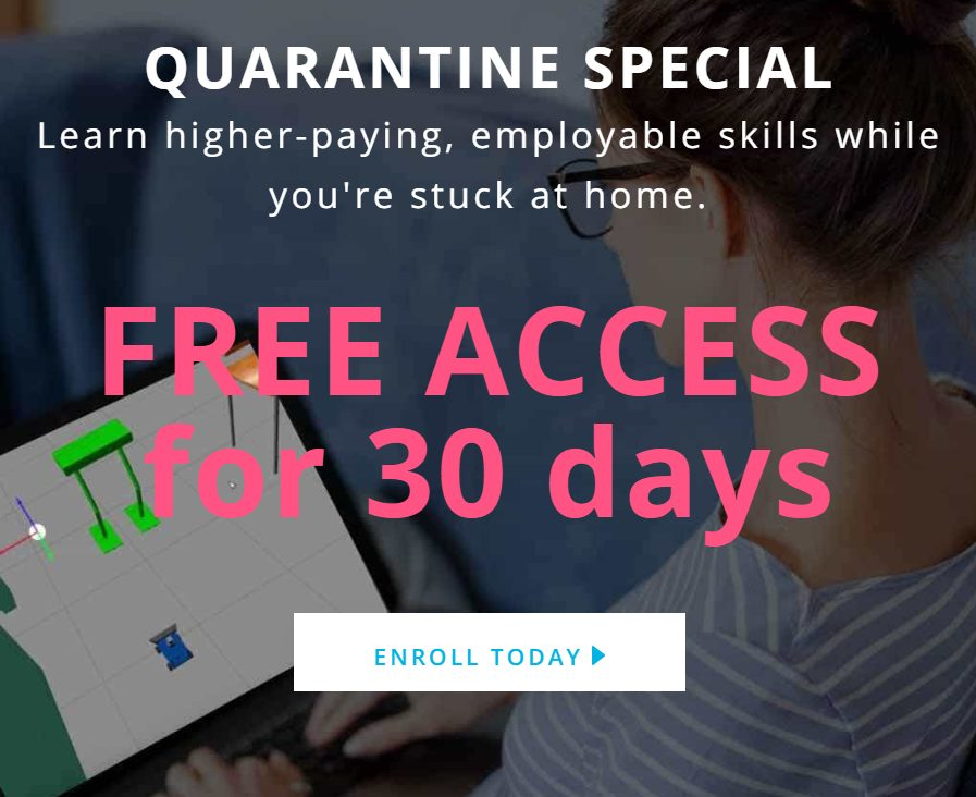 quarantine free courses udacity