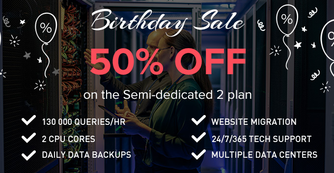 resellerspanel birthday sale semi dedicated  plan